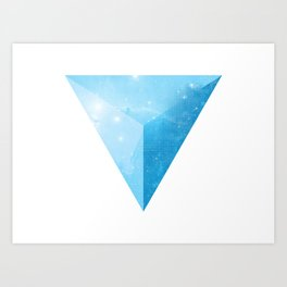 cosmic triangle Art Print