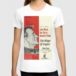 Classic Movie Poster - The Wings of Eagles T-shirt