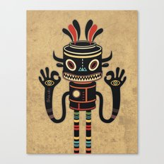 Tribe Gathering Canvas Print