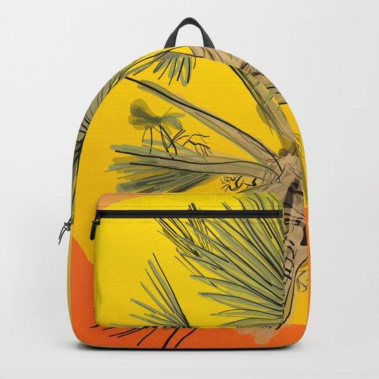 Palm Tree Sunset by anelhenning1980