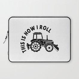 Tractor Farmer Agriculturer Farm Farming Gift Idea Laptop Sleeve