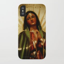 Pray For Us Sinners iPhone Case
