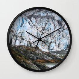 Glacier Bay National Park Alaska Wilderness Wall Clock