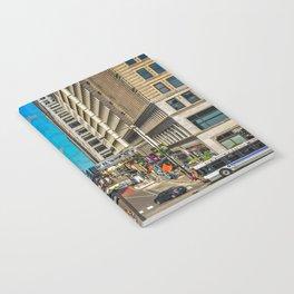 Cartoony Downtown Chicago Notebook