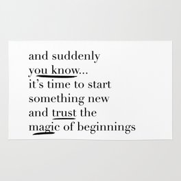 Trust the Magic Rug