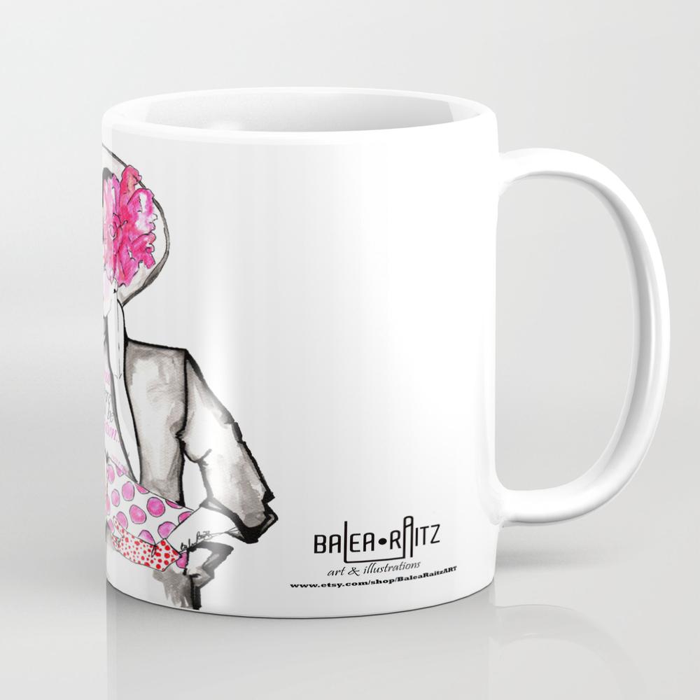 Melbourne Cup Fashion Mug by Balearaitzart MUG772159