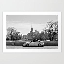 Fullerton Art Print