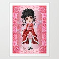 Wa Lolita Art Print