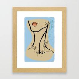 LADIE Framed Art Print