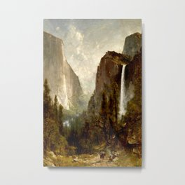 Bridal Veil Falls, Yosemite Valley 1892 Metal Print