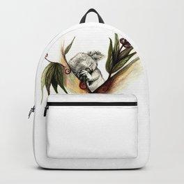 Koala sleeping Backpack