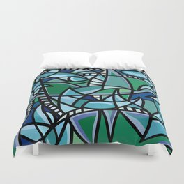 Bushel of Crabs Duvet Cover