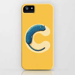 C for Cat iPhone Case