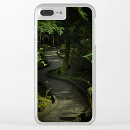 Path of Shadows Clear iPhone Case