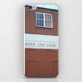 Made You Look iPhone Skin
