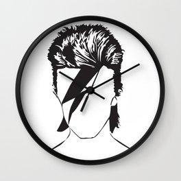 David as Ziggy Wall Clock