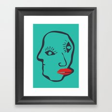 Faces of Pablo Framed Art Print
