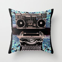 Stereo Type Throw Pillow