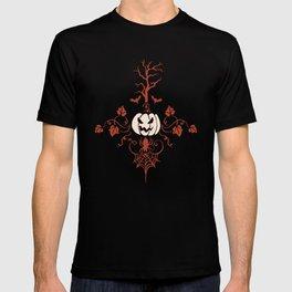 Vintage Halloween in Orange T-shirt