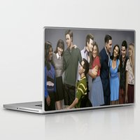 glee Laptop & iPad Skins featuring Glee by weepingwillow