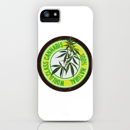 World Class Cannabis iPhone Case