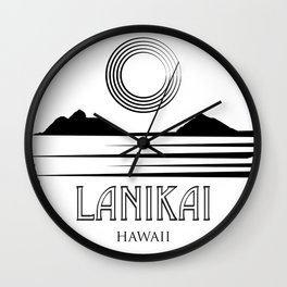 LANIKAI Wall Clock