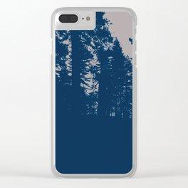 endless dusk Clear iPhone Case