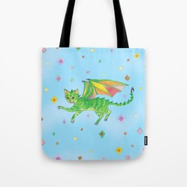 Dragoncat Tote Bag