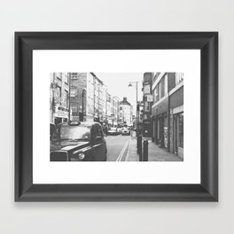 London scene Framed Art Print