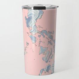 Philippines map Travel Mug