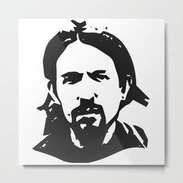 Pablo Iglesias Metal Print
