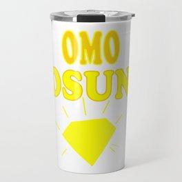 Omo Osun Travel Mug