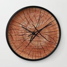 Oak Wood Grain Wall Clock