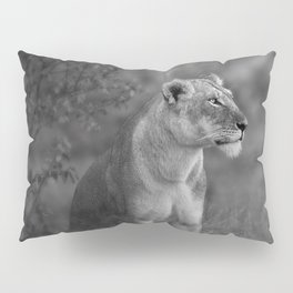 Lioness Portrait Pillow Sham