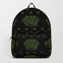 Marijuana of Pug Backpack