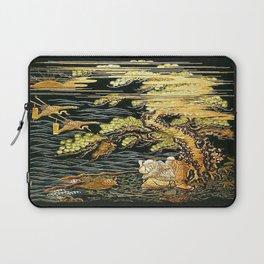 Oriental Landscape Laptop Sleeve