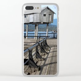 Stilted Cabin Clear iPhone Case
