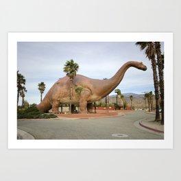 Dinny The Dino Art Print