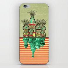 Pineapple architecture  iPhone & iPod Skin