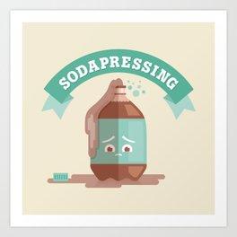 Sodapressing Art Print