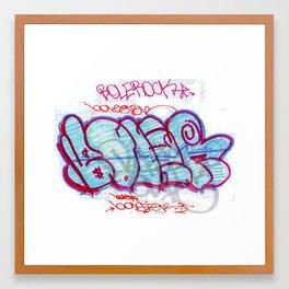 BOLER Framed Art Print