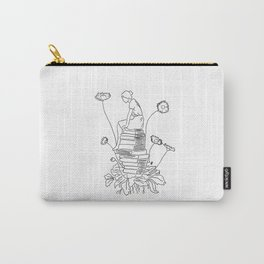 literature makes me bloom Carry-All Pouch
