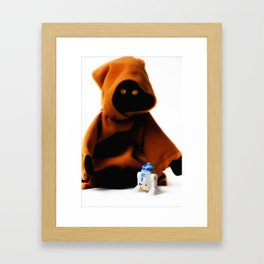 A Jawa's Favorite Toy Framed Art Print