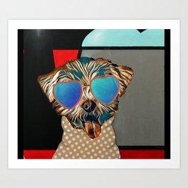 Doggie Time Art Print