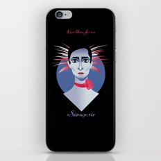 Siouxsie iPhone & iPod Skin