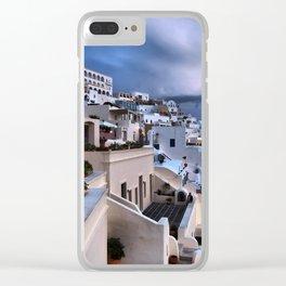Santorini 12 Clear iPhone Case