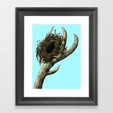 The Horn Framed Art Print