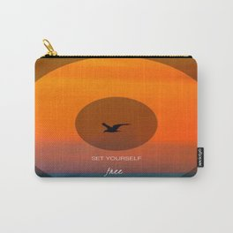 Set yourself Free Carry-All Pouch