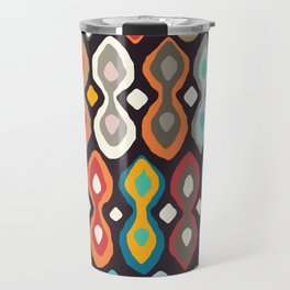 brocade eggplant Travel Mug
