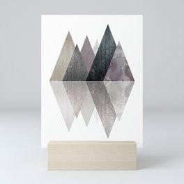 Modern Scandinavian Mountain Mini Art Print